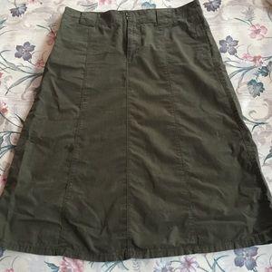 Dresses & Skirts - Khaki Maxi skirt.